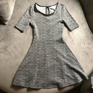 Grey H&M Skater Dress Size 4